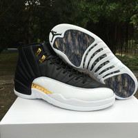 "Air Jordan 12 ""Wings"" AJ 12 Unisex Basketball Shoes"