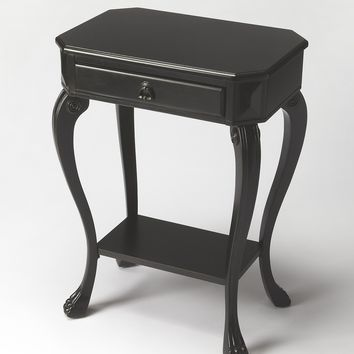 Channing Black Licorice Console Table