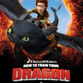 How to Train Your Dragon 11x17 Movie Poster (2010)