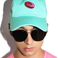 Donut Dad Hat- Turquoise