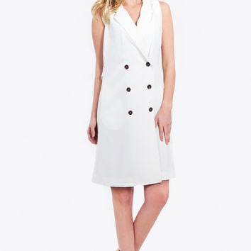 Women's Clean Trench Dress