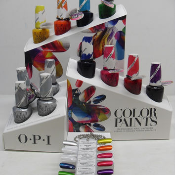 OPI Color Paints Nail Lacquer Display, 12pc