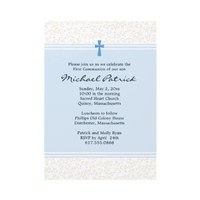 First Holy Communion Invitation from Zazzle.com