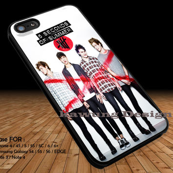 5 Second Of Summer DOP1156 iPhone 6s 6 6s+ 5c 5s Cases Samsung Galaxy s5 s6 Edge+ NOTE 5 4 3 #music #5sos