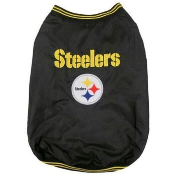 ONETOW Pittsburgh Steelers Pet Sideline Jacket