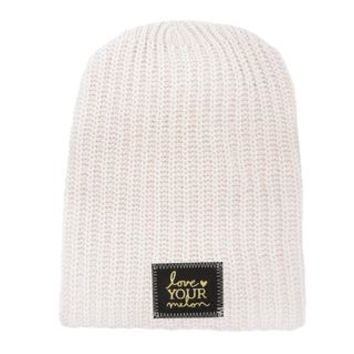 Natural Gold Foil Beanie - Love Your Melon