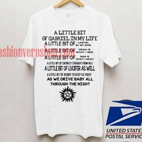 This supernatural mambo T shirtUnisex adult mens t shirt and women t shrt
