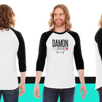 Damon can Consume Me American Apparel Unisex 3/4 Sleeve T-Shirt