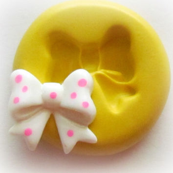 Molds Bow Cabochon Mold Fondant Resin Polymer Clay by WhysperFairy
