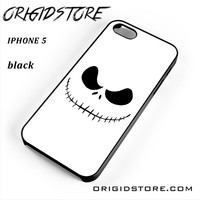 The Nightmare Before Christmas Face For Iphone 5 Iphone 5S Case YG