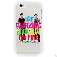Amazing Book Dan And Phil Cover For iPhone 6 / 6 Plus Case
