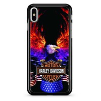 Harley Davidson Eagle iPhone X Case