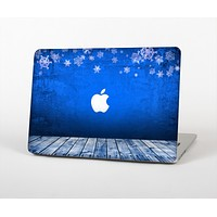 """The Snowy Blue Wooden Dock Skin for the Apple MacBook Air 13"""""""