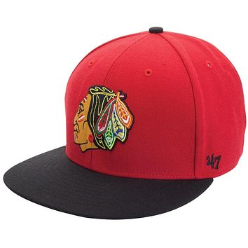 Chicago Blackhawks - Logo Big Shot Snapback Cap