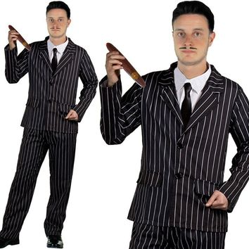 THE ADDAMS FAMILY GOTHIC HUSBAND COSTUME