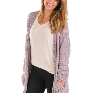 Ice Queen Chenille Cardigan