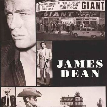 James Dean Tribute Poster 23x35