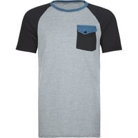 Ergo Chipper Mens T-Shirt Charcoal/Black  In Sizes