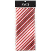 Peppermint Stripe Tissue Paper