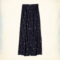 Girls Button-Front Woven Maxi Skirt | Girls Dresses & Rompers | HollisterCo.com