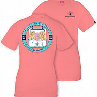 Simply Southern Always Stay Humble and Kind Tee- Pink