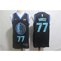Dallas Mavericks 77 Luka Doncic Swingman Jersey