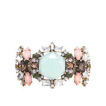 Sunwashed Aqua Crystal compilation bracelet - jewelry - Women's new arrivals - J.Crew