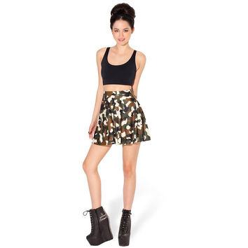 NEW 1010 Summer Sexy Hot Army Digital CAMO camouflage Printed Cheering Squad Tutu Skater Women Mini Pleated Skirt Plus Size