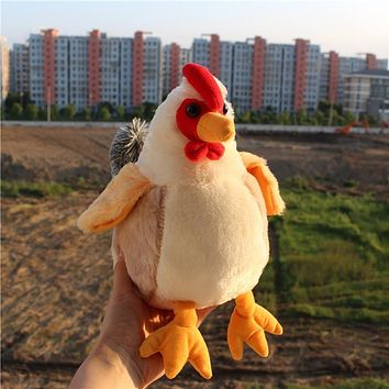 Cute Stuffed Chicken Doll Kawaii Chicken Plush Toys Christmas Gifts