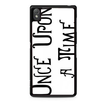 Henry's Book Once Upon A Time Xperia Z3 Case