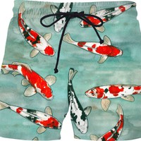Koi pond Swim Shorts