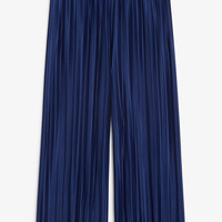 Flowy trousers - Midnight visible - Trousers & shorts - Monki GB
