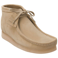 Clarks Wallabee Natural Suede Natural Suede Boot