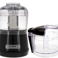 KitchenAid 3.5 Cup One-Touch 2-speed Chopper with Extra Bowl — QVC.com