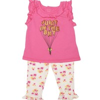 Pink Poppy Baby 2Pc Top & Legging Set by Juicy Couture,
