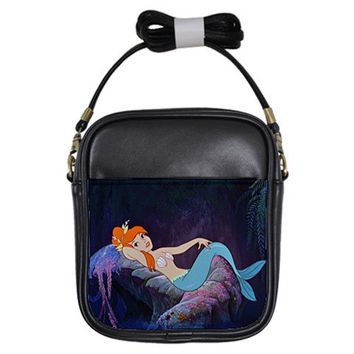 Peter Pan Mermaid Mini Cross Body Bag (Free U.S. Shipping)