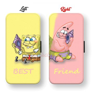 Buy Spongebob and Patrick Best Friend Phone Cases for Wallet