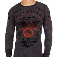 Affliction Tried Truth Reversible Thermal Shirt