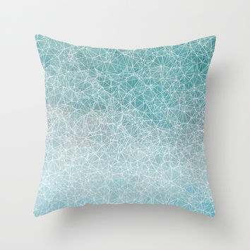 Polygonal A3 Throw Pillow by VanessaGF