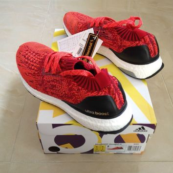 ADIDAS ULTRABOOST ULTRA BOOST UNCAGED RED SIZES UK 7 NEW