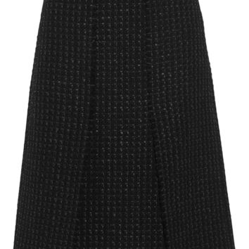 Proenza Schouler - Split tweed skirt