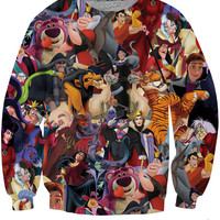 Disney Villains Crewneck Sweatshirt