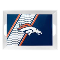 Denver Broncos Serving Tray 18x12x3 Melamine