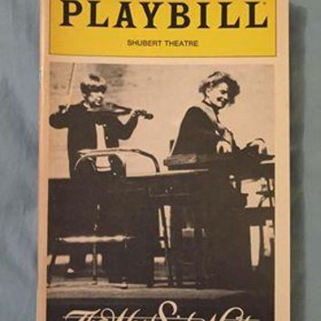 The West Side Waltz Playbill