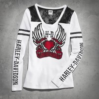Hearts & Wrenches Waffle Knit