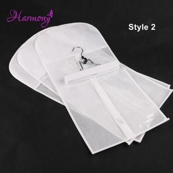 1 set White Hair Extension Carrier Storage - Suit Case Bag and Hanger, Wig Stands, Hair Extensions Hanger, Hair Extensions Bag