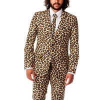 The Highly Seductive Evening Leopard Suit
