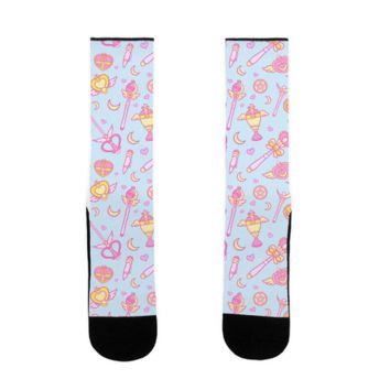 SAILOR MOON WEAPONS SOCK