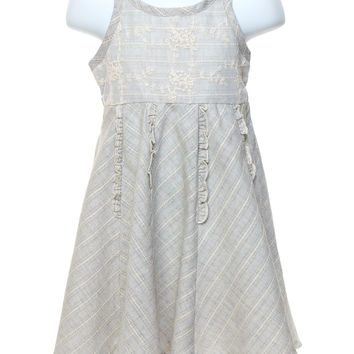 Silver Belle Toddler Dress