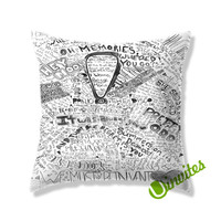 panic at the disco collage Square Pillow Cover